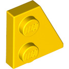 LEGO Yellow Wedge Plate 2 x 2 (27°) Right (24307)
