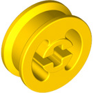 LEGO Yellow Wheel Hub 8 x 17.5 with Axlehole (3482)