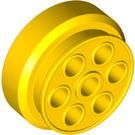 LEGO Yellow Wheel Rim 30mm x 12.7mm Stepped (2695)
