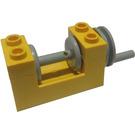 LEGO Yellow Winch 2 x 4 x 2 with Light Grey Drum (73037)