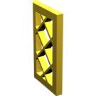 LEGO Yellow Window 1 x 2 x 3 Latticed Pane (Unreinforced) (2529)