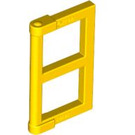 LEGO Yellow Window 1 x 2 x 3 Pane with Thick Corner Tabs (28961 / 60608)