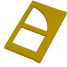 LEGO Yellow Window Pane for Frame 2 x 6 x 6 (6237)