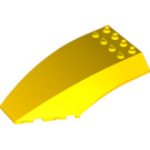 LEGO Yellow Windscreen 10 x 6 x 2 (45705 / 59195)