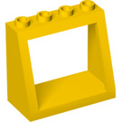 LEGO Yellow Windscreen 2 x 4 x 3 with Solid Studs (2352)