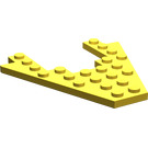 LEGO Yellow Wing 8 x 8 with 4 x 4 Cutout