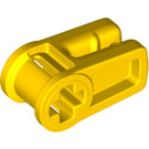 LEGO Yellow Wire Clip with Cross Hole (49283)