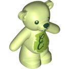 LEGO Yellowish Green Teddy Bear with Decoration (65230)