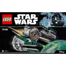 LEGO Yoda's Jedi Starfighter Set 75168 Instructions