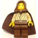 LEGO Young Obi-Wan Kenobi with Hood and Cape Minifigure