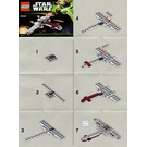 LEGO Z-95 Headhunter Set 30240 Instructions