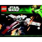 LEGO Z-95 Headhunter Set 75004 Instructions