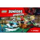 LEGO Zane's Ninja Boat Pursuit Set 10755 Instructions