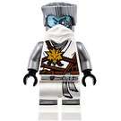 LEGO Zane with Flat Silver Hair and White Scarf Minifigure