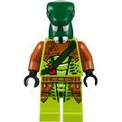LEGO Zoltar Snake Villain Minifigure