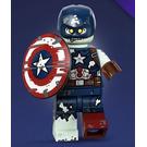 LEGO Zombie Captain America 71031-9