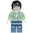 LEGO Zombie Skateboarder Minifigure