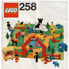 LEGO Zoo (with Baseboard) Set 258-1 Instructions