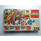 LEGO Zoo (with Baseboard) Set 258-1 Packaging