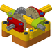 FLL Workshop Power Transmission Module - Reverse Rotation & Pass Through