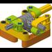 FLL Workshop Power Transmission Module - Worm Gear 8:1 Turn Set