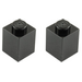 LEGO 1 Stud Brick, Assorted Colours (6) Set 422-2