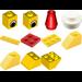 LEGO Advent Calendar Set 4124-1 Subset
