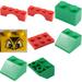 LEGO Advent Calendar Set 4124-1 Subset Day 19 - Parrot