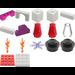 LEGO Advent Calendar Set 7600-1 Subset Day 16 - Fireplace