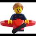 LEGO Airplane Girl Minifigure