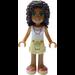 LEGO Andrea, Tan Shorts, White Top Minifigure