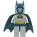 LEGO Batman with Gray Suit with Yellow Belt/Crest Minifigure