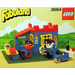 LEGO Bertie Bulldog (Police Chief) and Constable Bulldog Set 3664