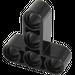LEGO Black Beam 3 x 3 T-Shaped (60484)