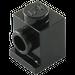 LEGO Black Brick 1 x 1 with Headlight and Slot (4070)