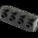 LEGO Black Brick 1 x 4 with 4 Studs on One Side (30414)