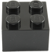 LEGO Black Brick 2 x 2 (3003)