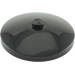 LEGO Black Dish 4 x 4 with Solid Stud (3960)