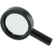LEGO Black Magnifying Glass with Thin Frame (30152 / 90463)
