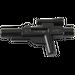 LEGO Black Minifig Gun Short Blaster (58247)