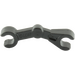 LEGO Black Minifig Mechanical Bent Arm (30377 / 49754)