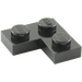 LEGO Black Plate 2 x 2 Corner (2420)