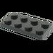 LEGO Schwarz Platte 2 x 4 (3020)
