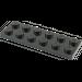 LEGO Black Plate 2 x 6 (3795)