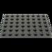 LEGO Black Plate 6 x 8 (3036)