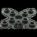 LEGO Black Propellor 4 Blade 5 Diameter (2479)