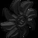 LEGO Black Propellor 8 Blade 5 Diameter