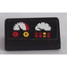 LEGO Black Slope 1 x 2 (31°) with 2 Gauges and Buttons Sticker