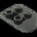 LEGO Black Slope 2 x 2 (45°) Inverted (3660)