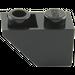 LEGO Black Slope 45° 2 x 1 Inverted (3665)